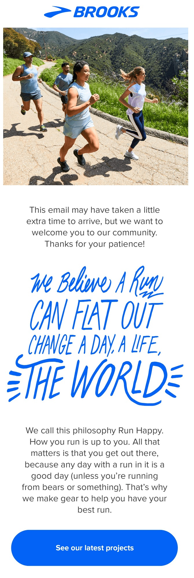 Good storytelling is always a part of good email marketing ideas