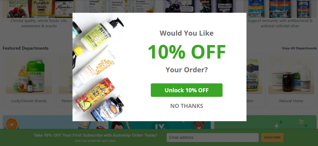 ecommerce marketing strategy - doing discounts differently