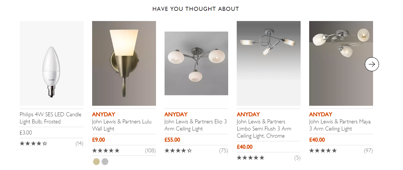 example of product comparison micro conversions