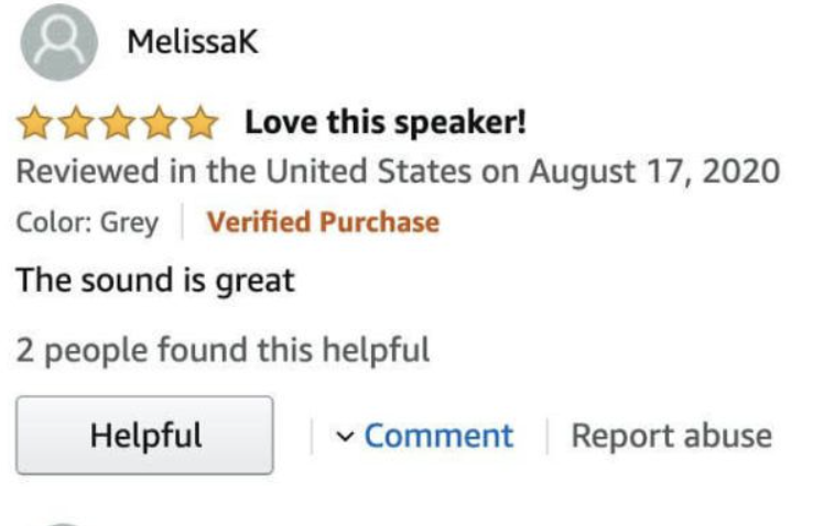 example of a generic product review
