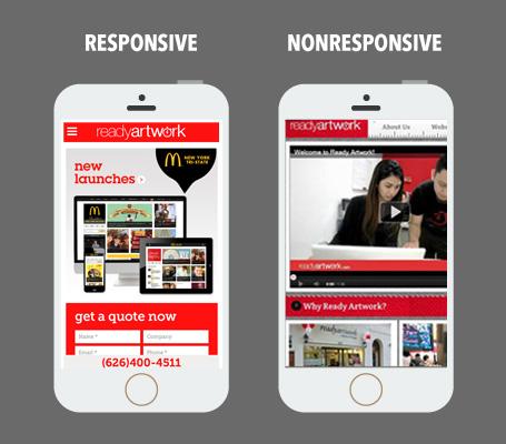 responsive vs unresponsive shopify theme