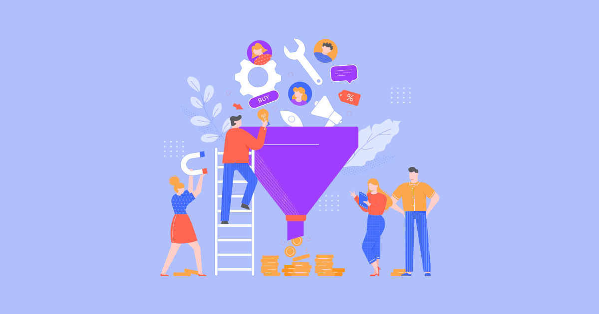 5 stages of an ecommerce conversion funnel (+ways to improve each step)