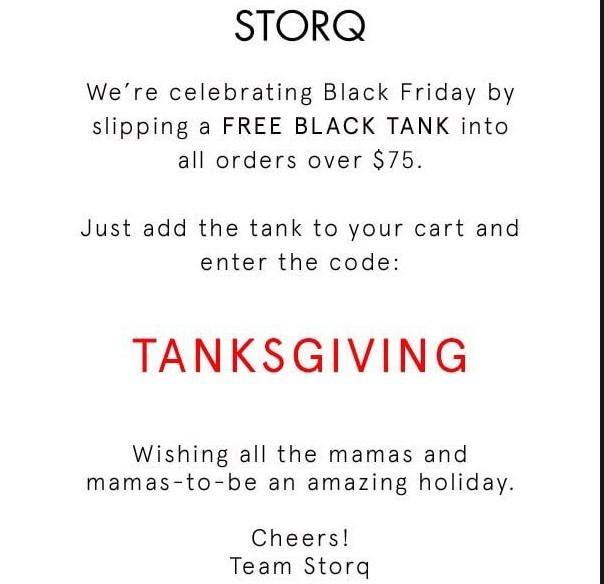 Storq runs an engaging newsletter