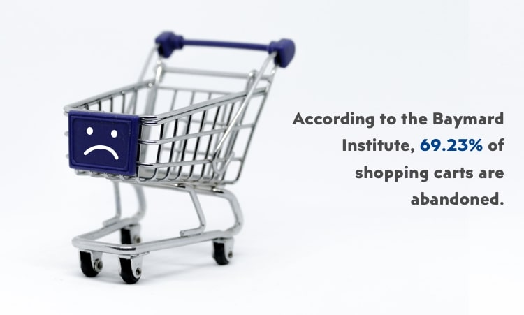 reducing cart abandonment rate to grow eCommerce business