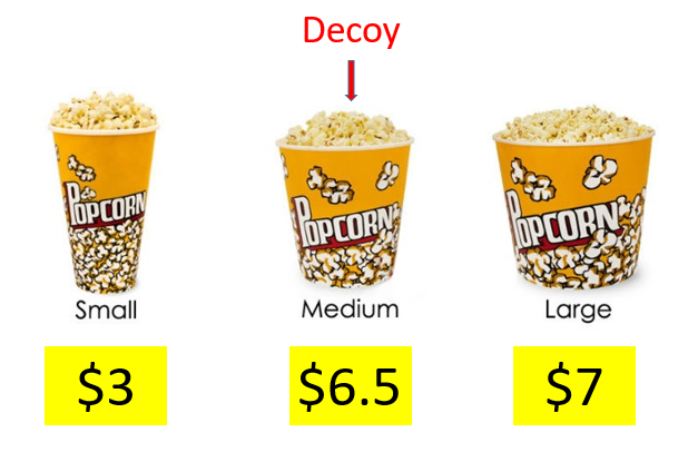 example of product decoy strategy