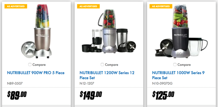 example of using decoy pricing to increase eCommerce ROAS