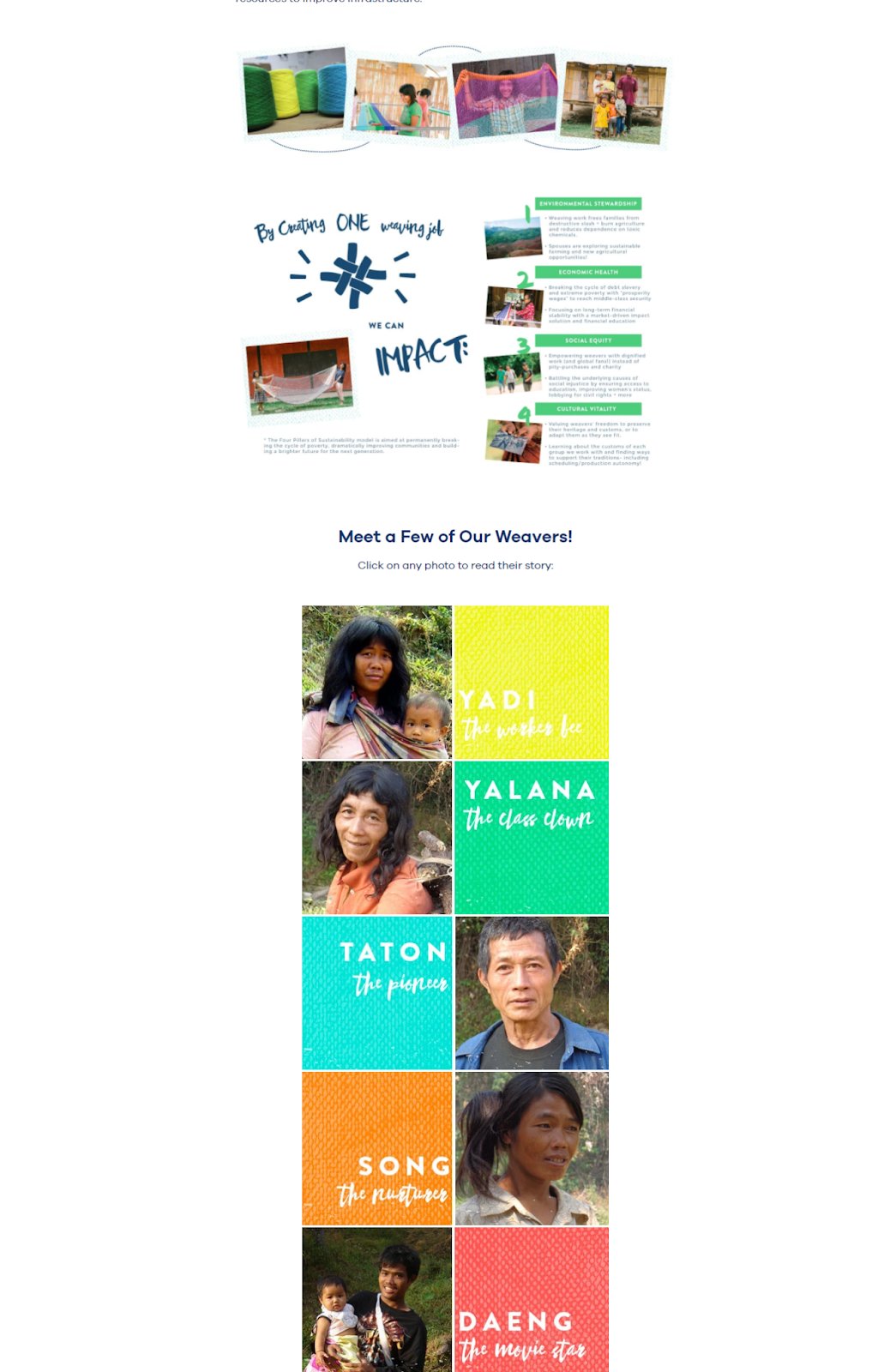 example of community building programs from yellow leaf
