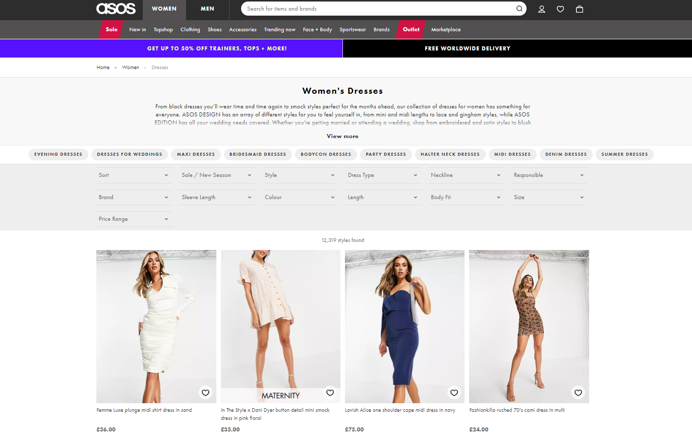 product-listing-page-example-from-asos