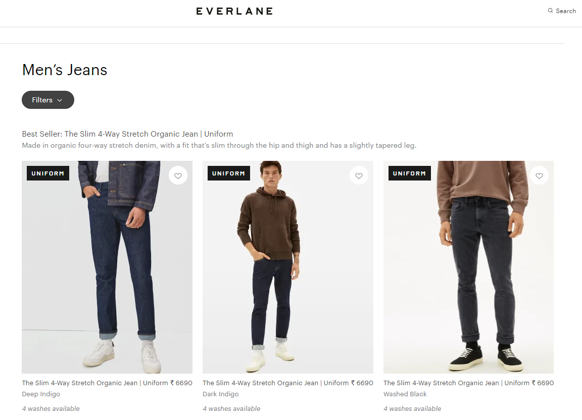 product-listing-page-example-from-everlane