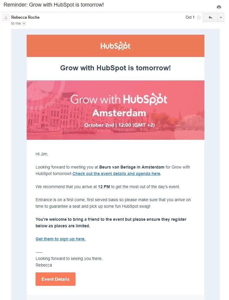 HubSpot drip email campaign 3