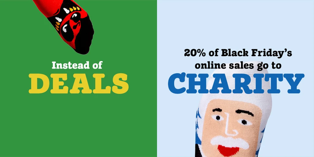 Example of offering gifts for every purchase by Chatty Feet for Black Friday