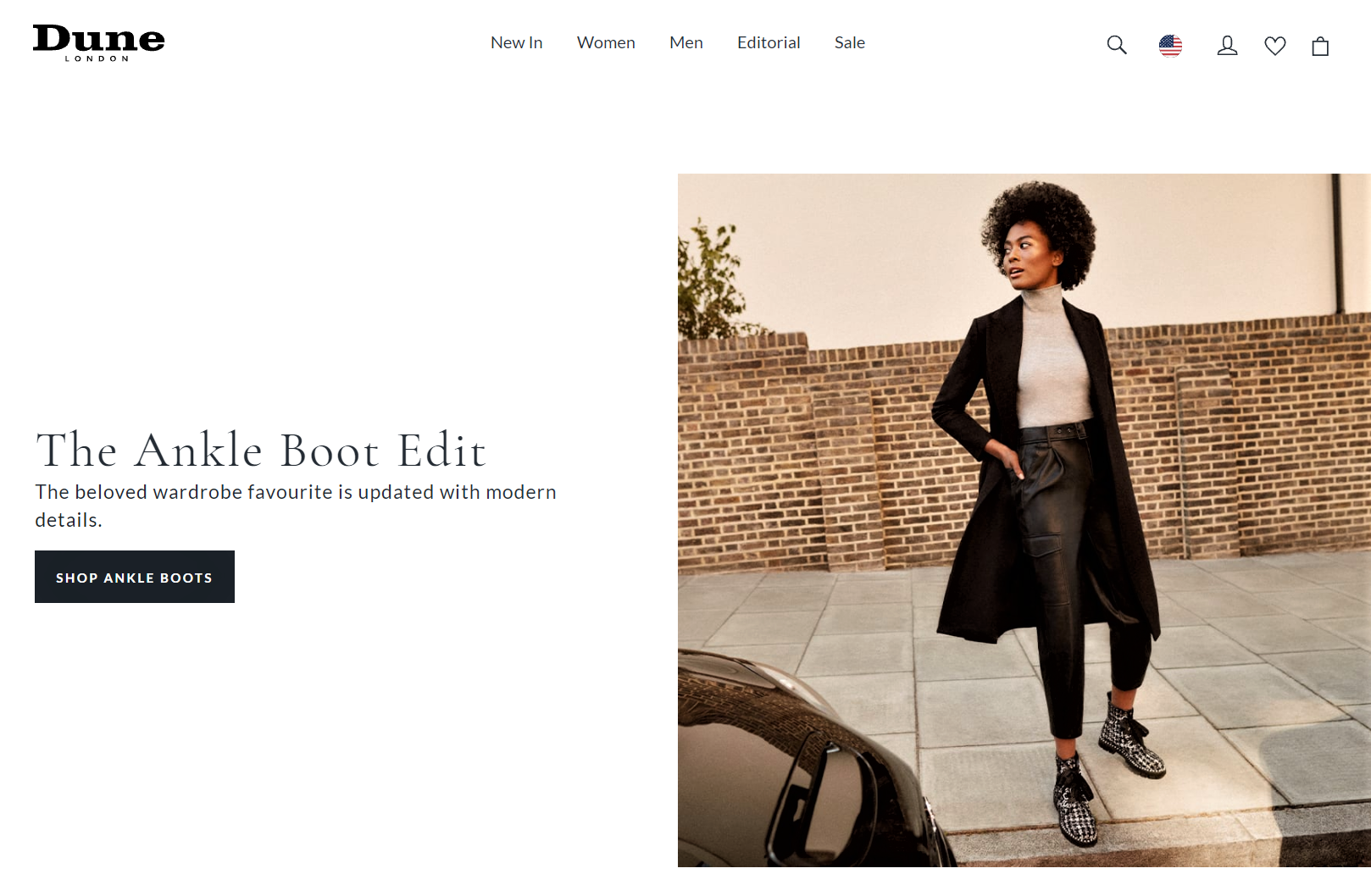 Example of influencer marketing to improve product page UX by Dune London