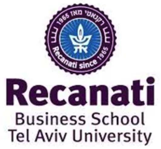 Recanati Business school - Tel Aviv University