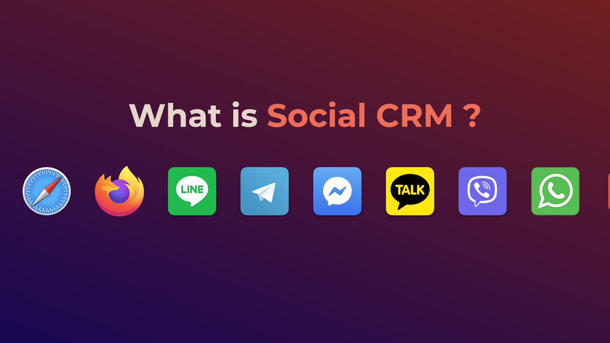 What is Social CRM ?