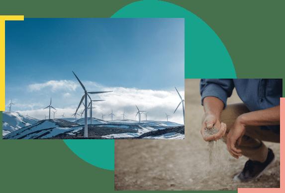 photo of renewable energy facilities