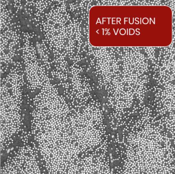Material Structure After Fusion