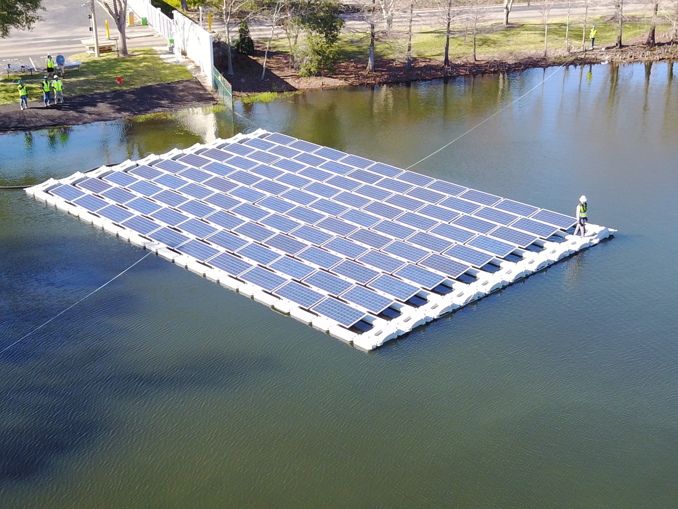 Floating solar: pushing the frontiers of renewables