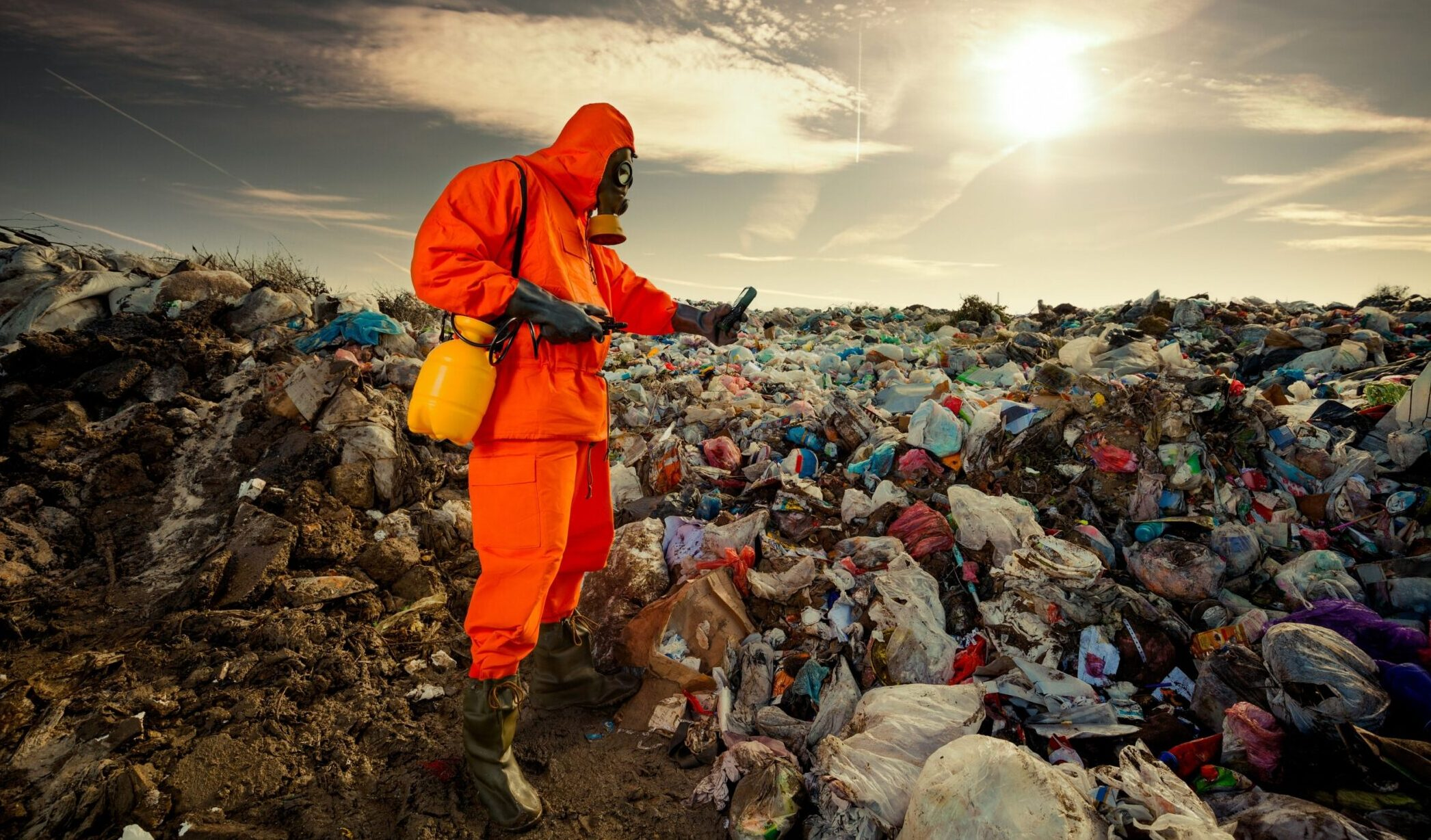 The link between waste management, circular economy and solving climate change