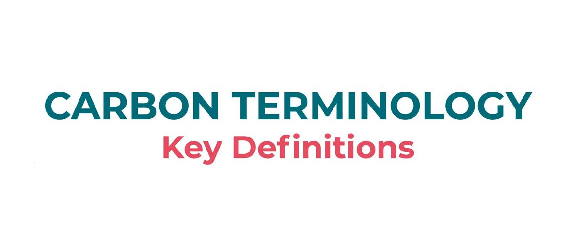 Carbon Terminology