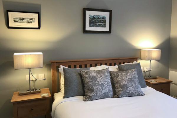 Ulva and Torosay are delightful king-size rooms and contemporary en-suite shower rooms