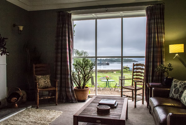 Pennygate Lodge - a lovingly restored and charming Georgian guest house on Mull