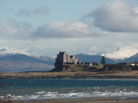 Duart Castle in south east Mull