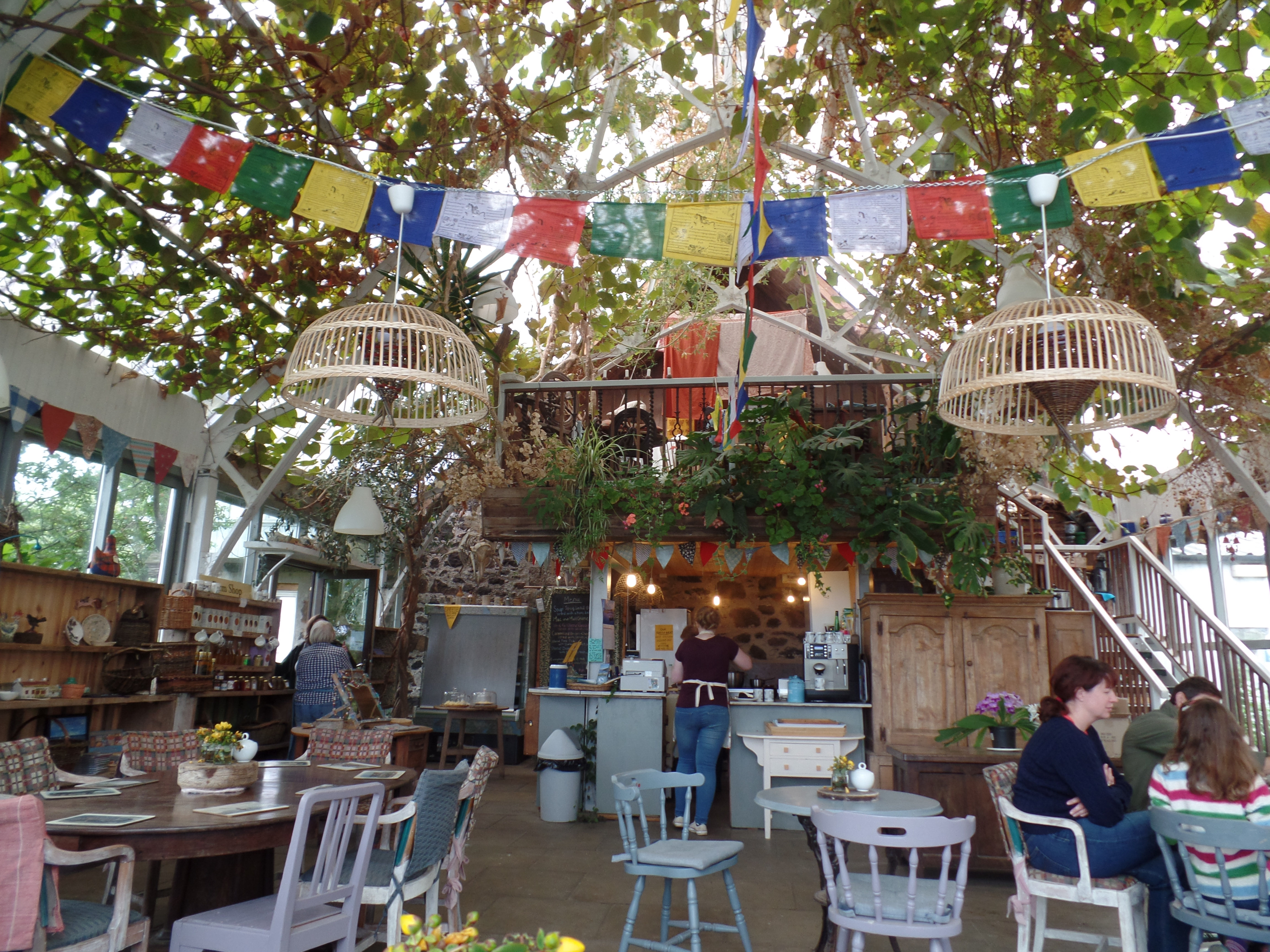 The Glass Barn Cafe and Shop at Isle of Mull Cheese