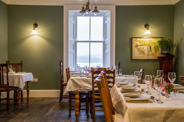 Pennygate Lodge restaurant showcases the very best of Mull's wonderful rich larder