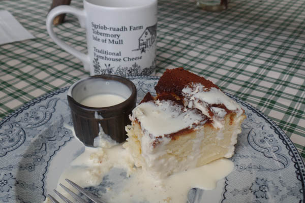 Glass Barn Cafe at the Isle of Mull Cheese Farm