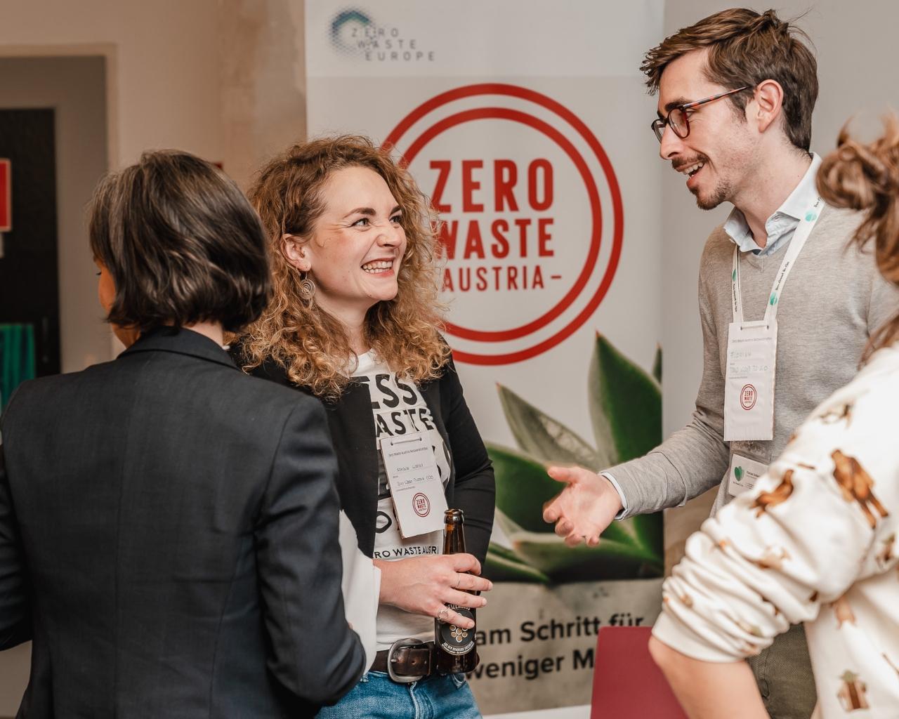 Logo of Zero Waste Austria | partner organization of Bernd Kopper Förderberatung Graz