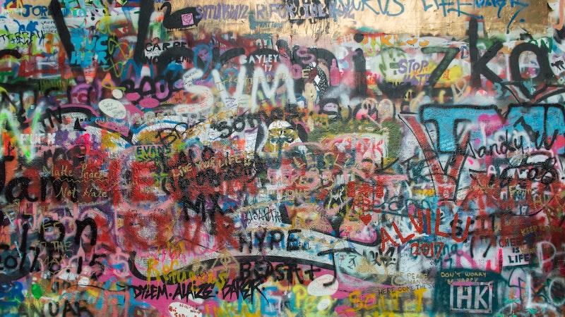 Vandalismus Graffiti