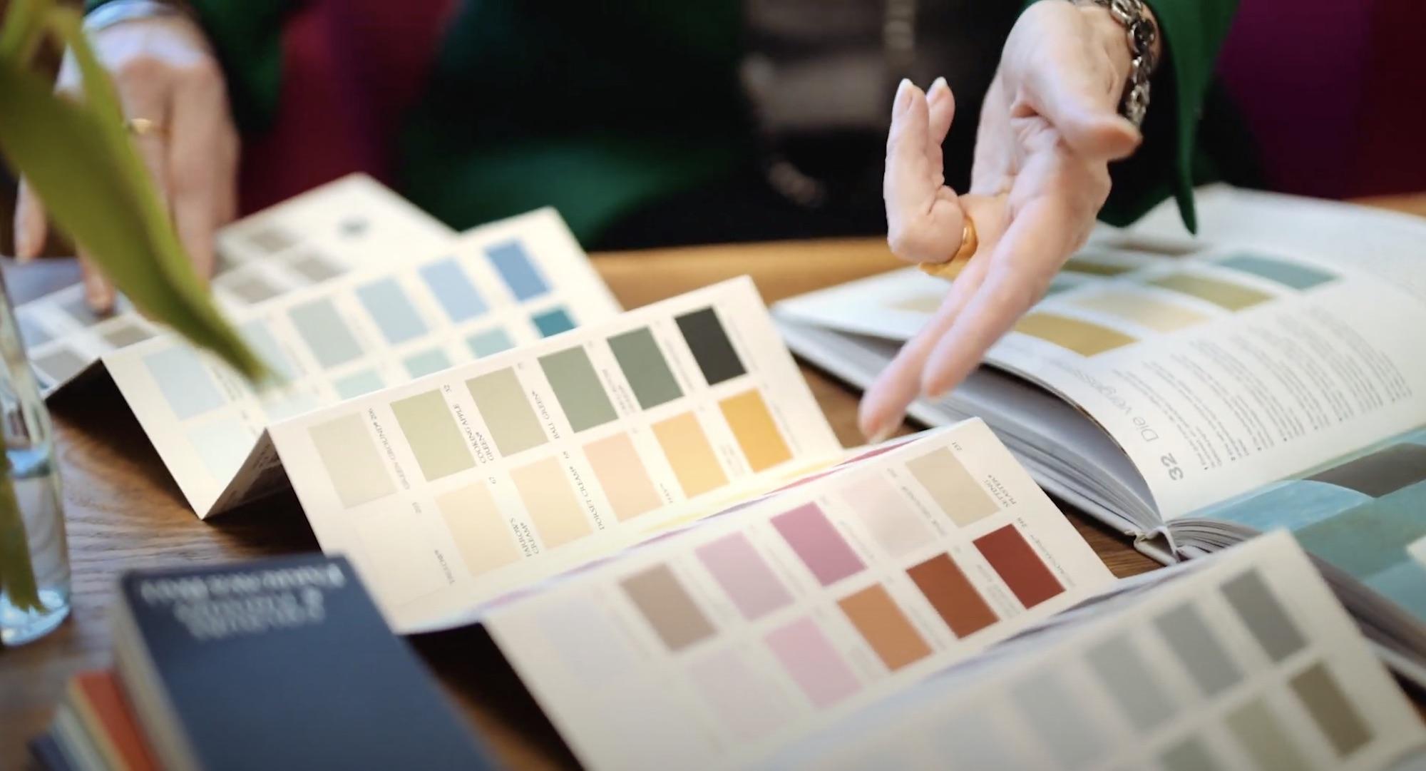 Wandfarbe auswählen