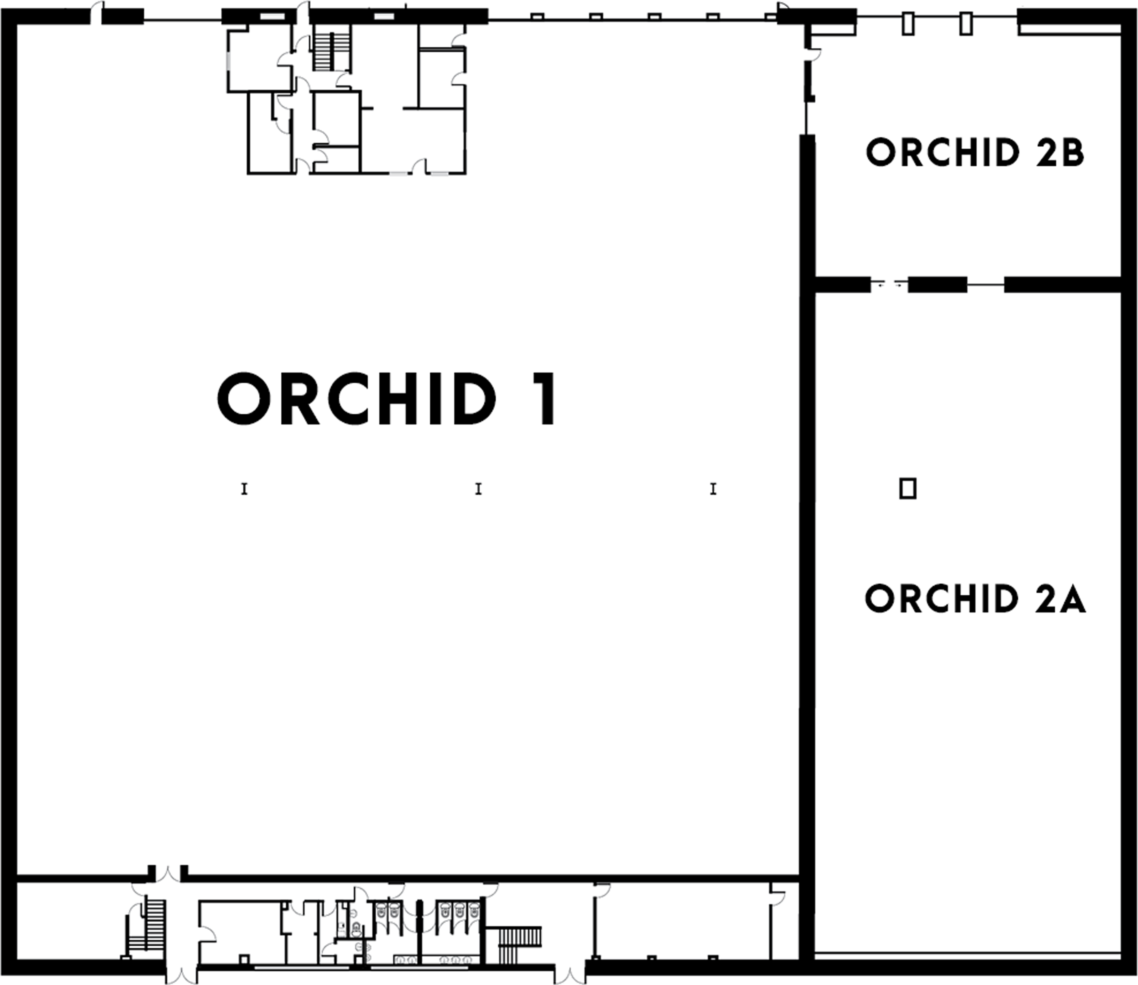Orchid 1 and 2 Floorplan