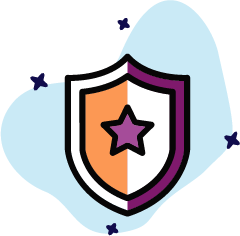 Graphic of a shield
