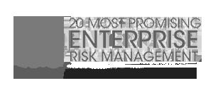 CIO Review 20 Most Promising Enterprise Risk Management Solution Providers 2017 logo