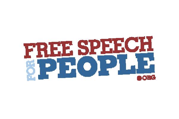 Free Speech for People logo
