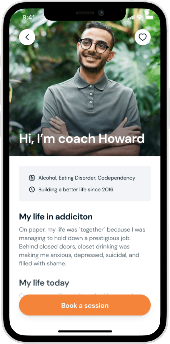Coaching app look