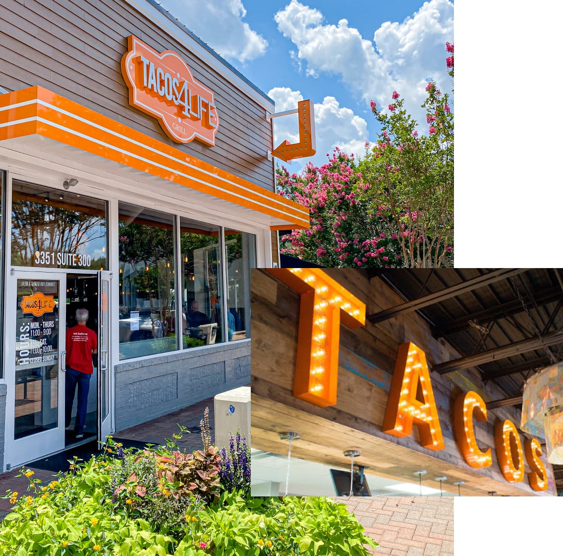 Tacos 4 Life - US Locations