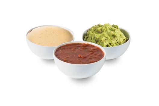 Queso, Salsa, & Guacamole