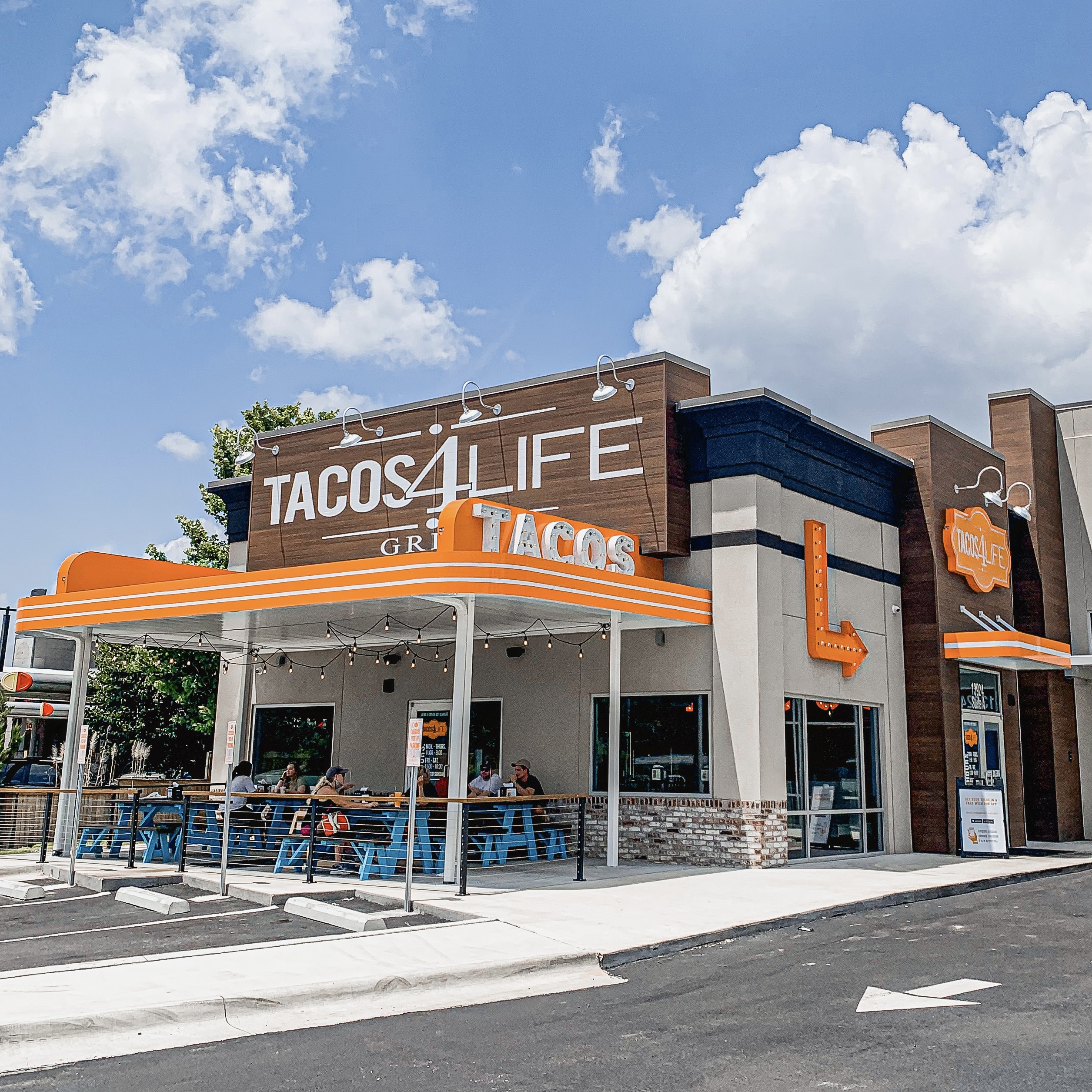 Tacos 4 Life in West Little Rock, AR on Cantrell Rd.