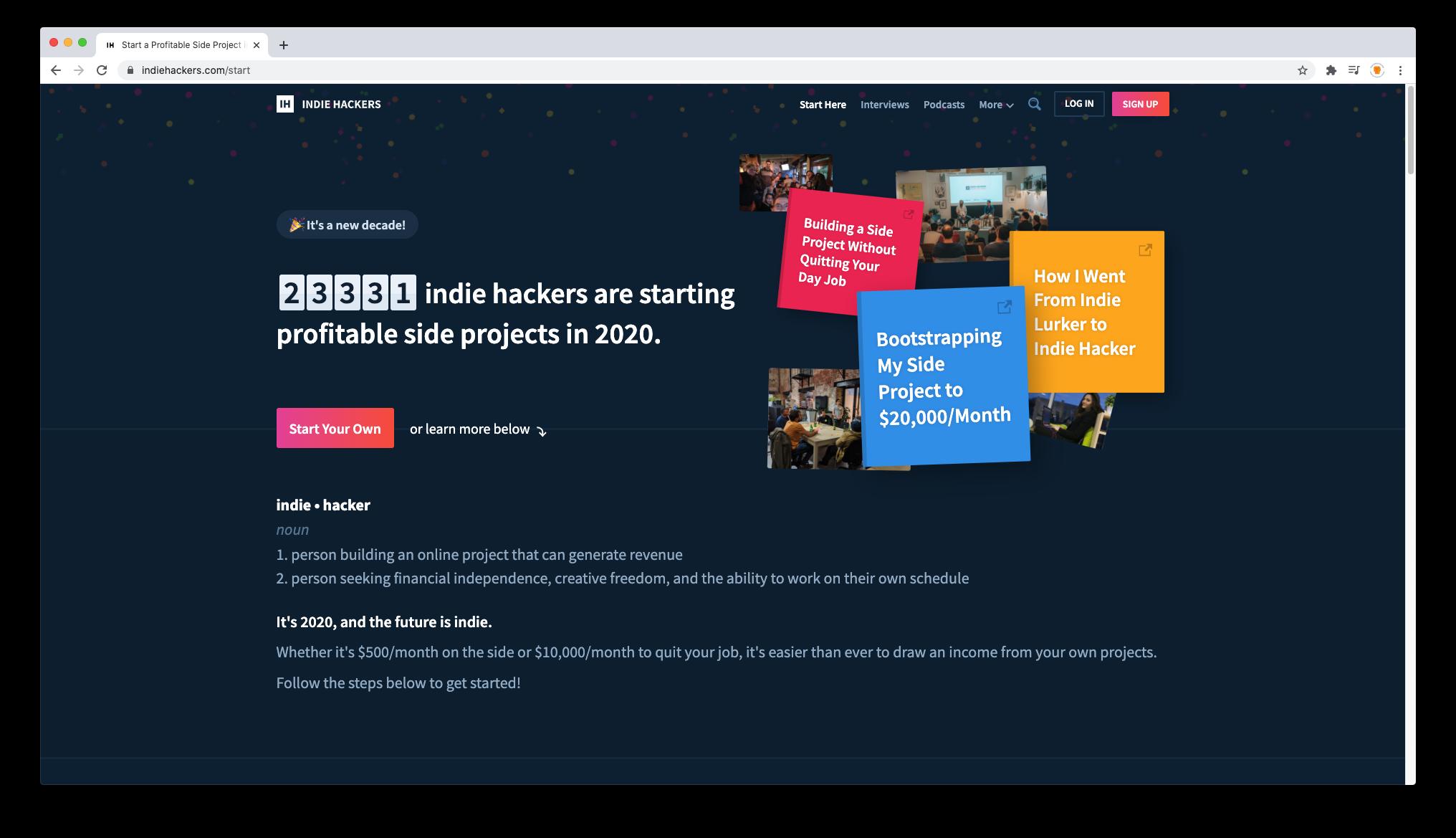 Community Website Image