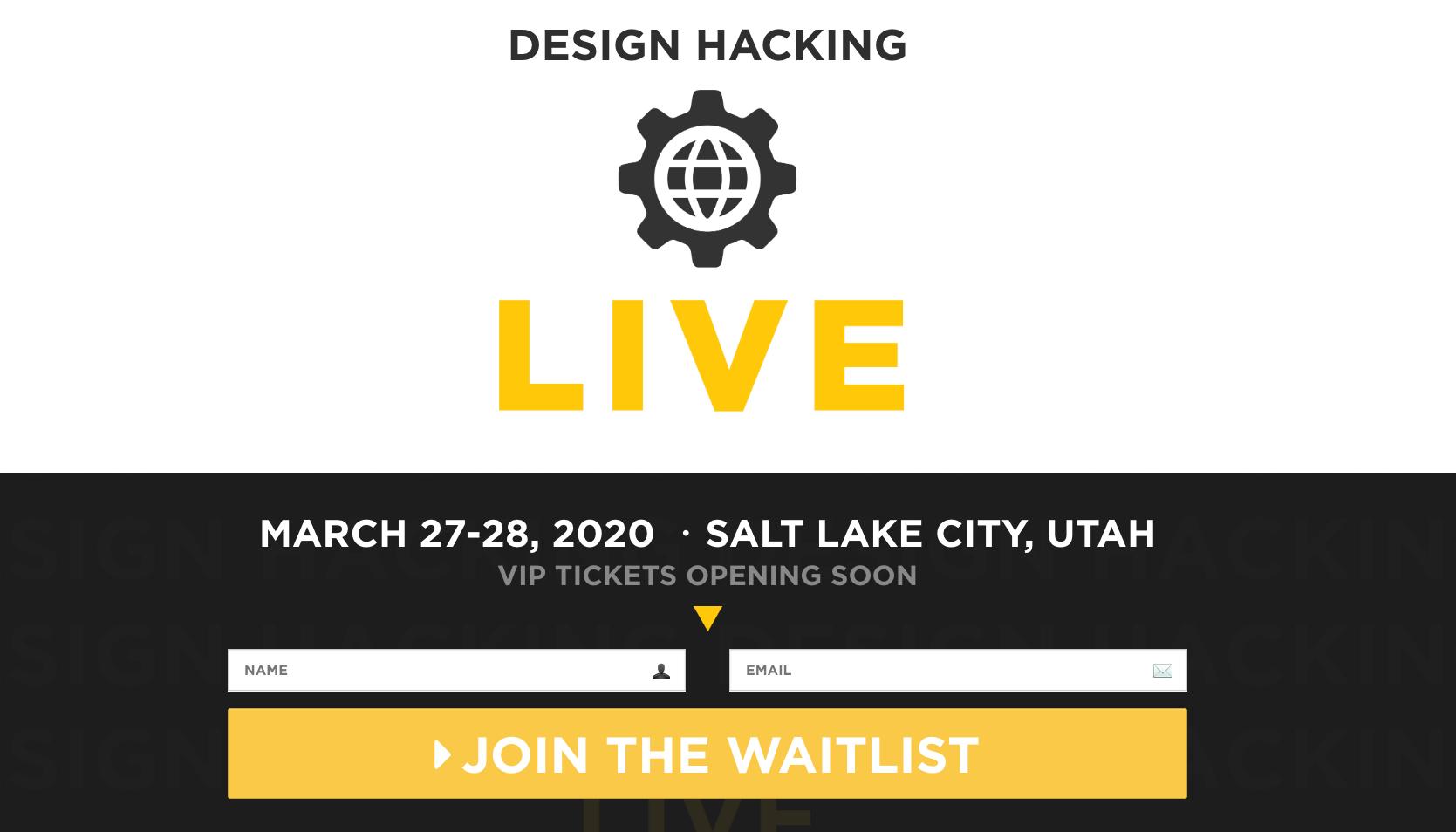 Design Hacking Live