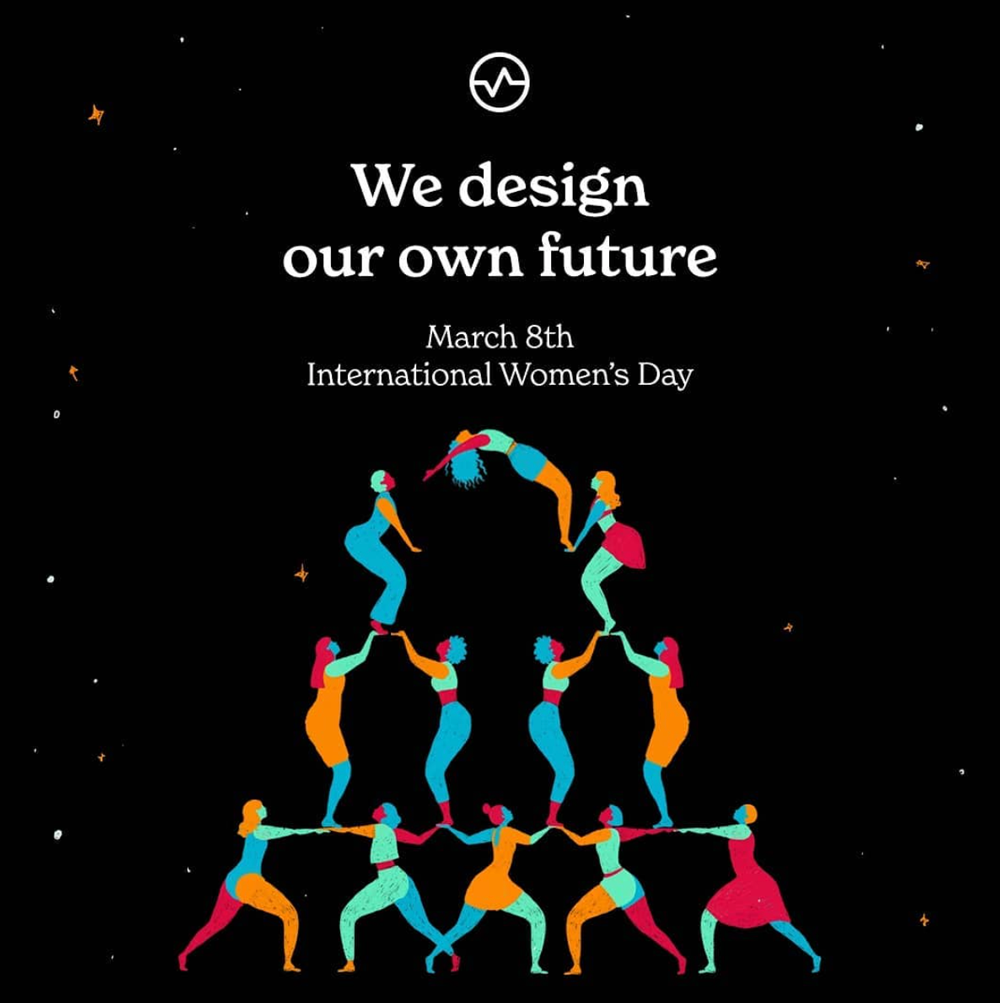 Illustration from Wizeline on the Women's day.