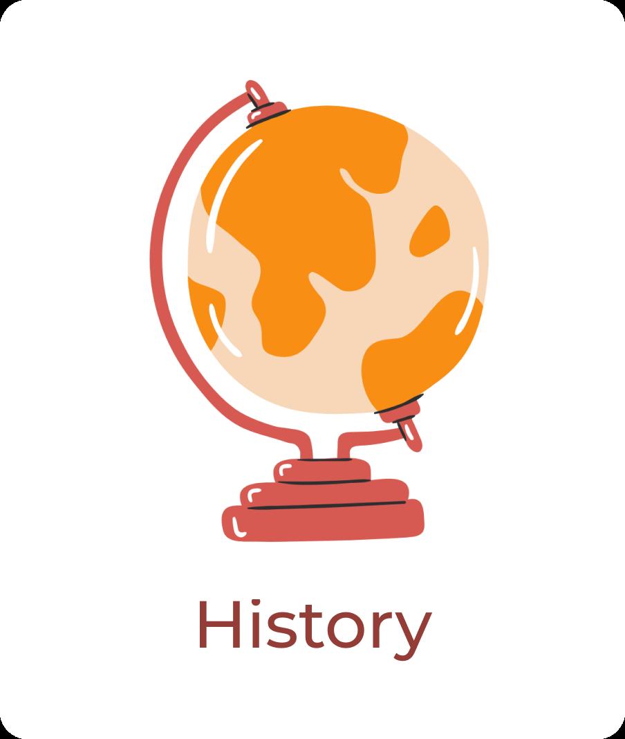 Orange and red globe