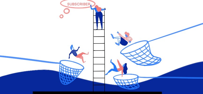 What are you doing about never-subscribers?