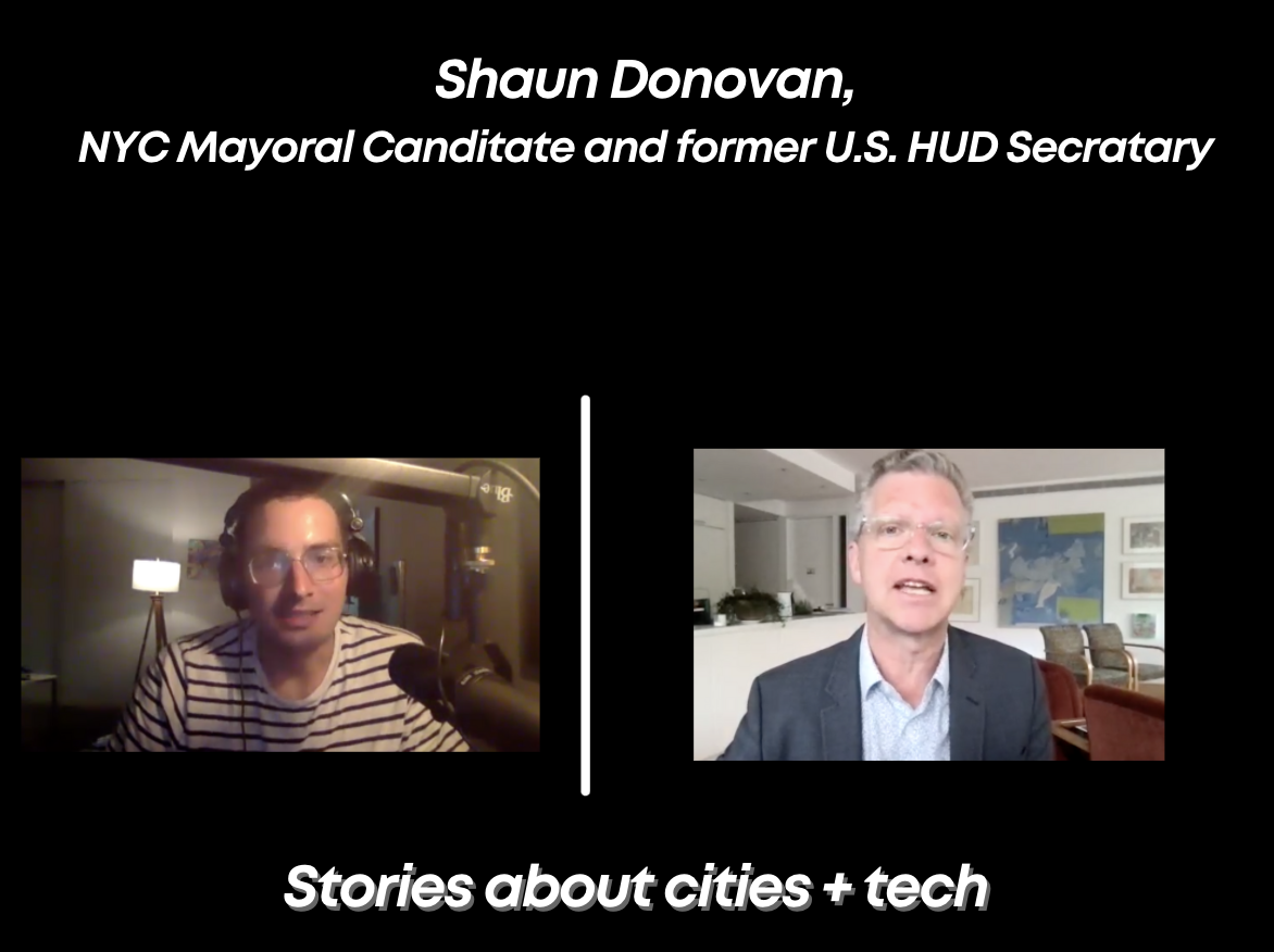 Interview w/ Former U.S. HUD Secretary and NYC Mayoral Candidate Shaun Donovan