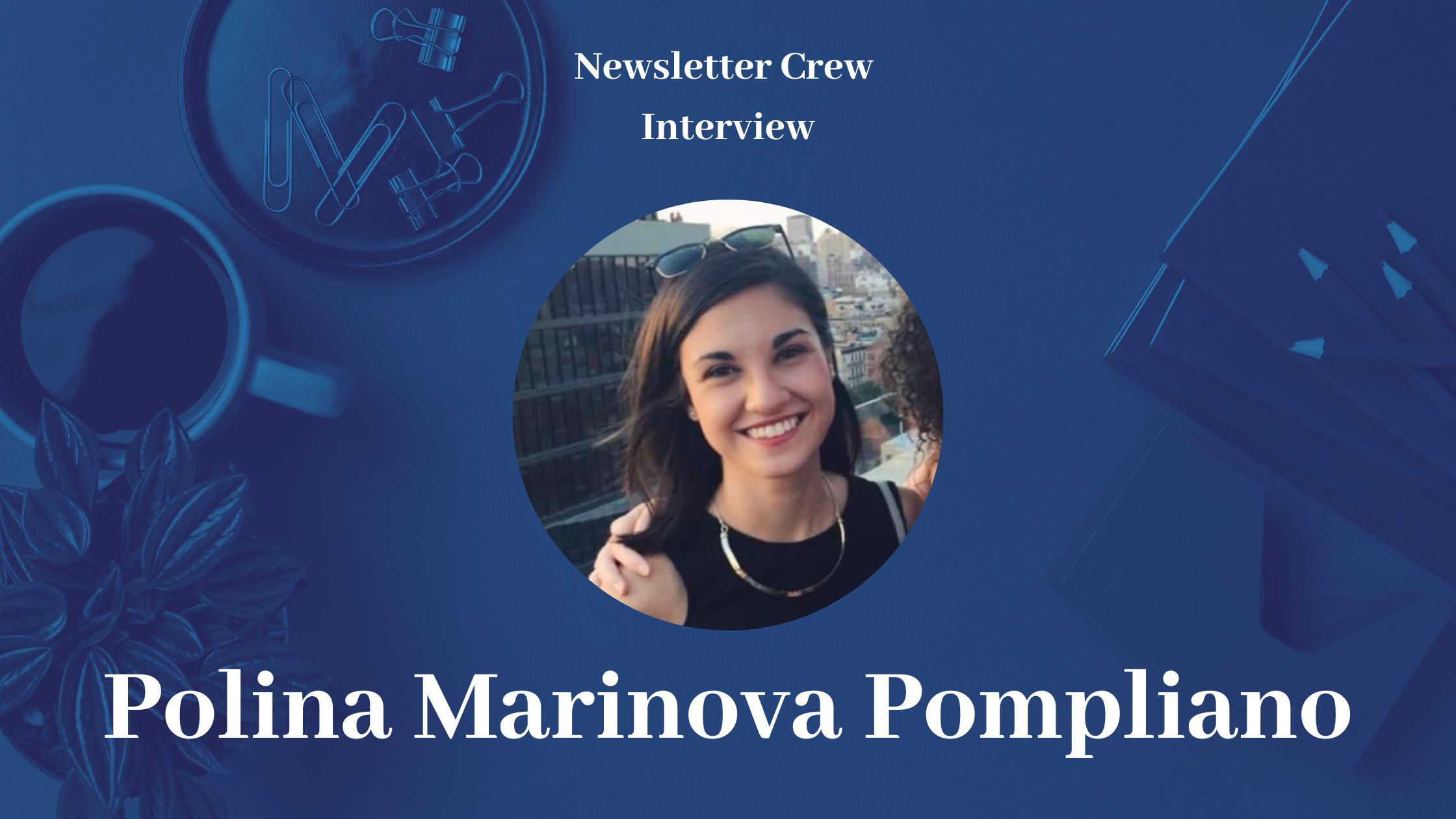 Three years of profiles with Polina Marinova Pompliano