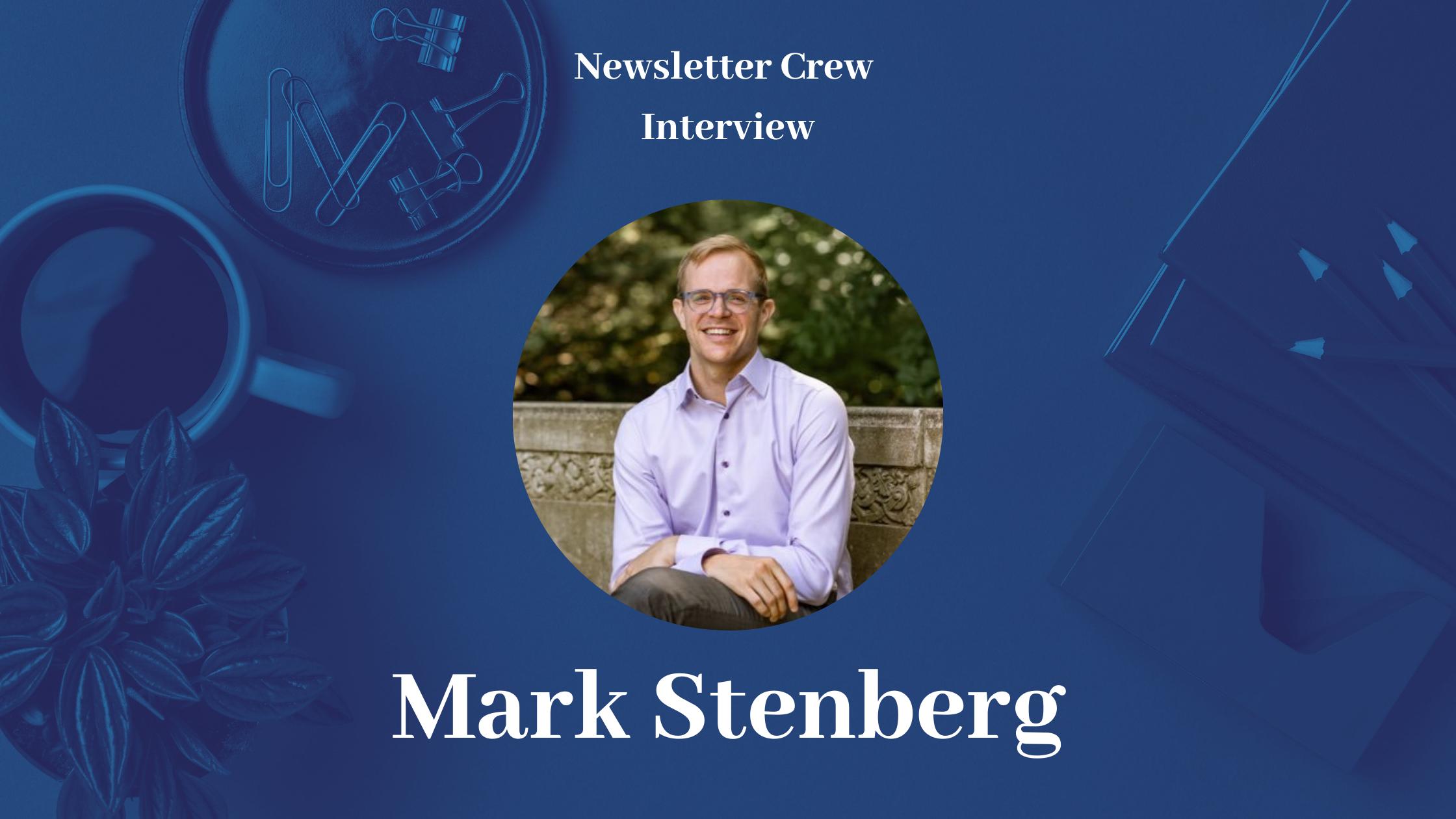 Media gazing with Mark Stenberg