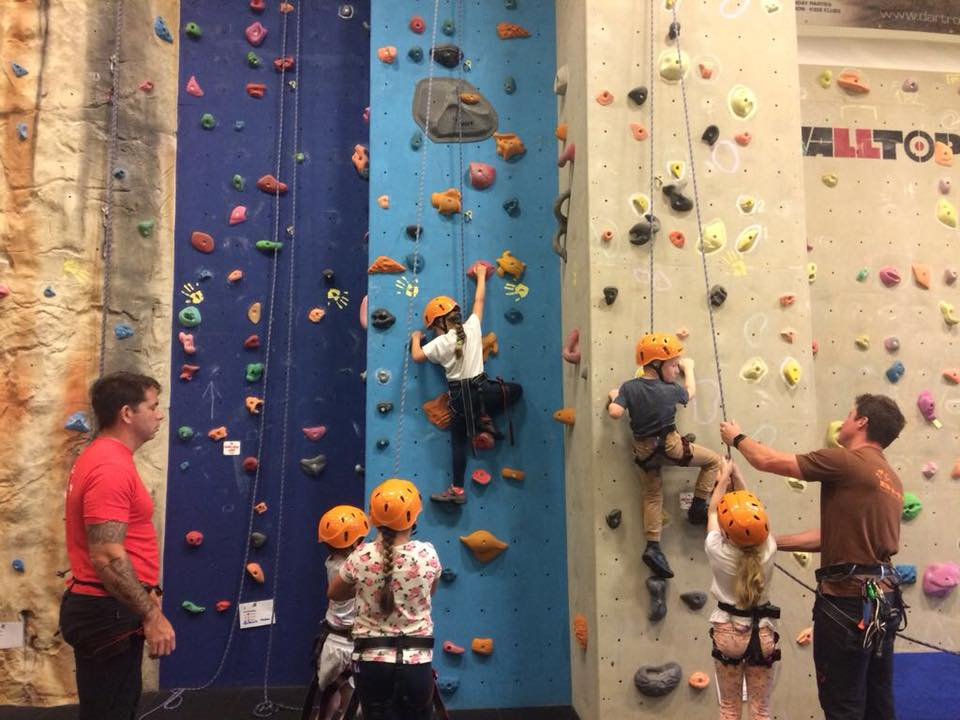 bear grylls adventure centre rock climbing with inaccessible solutions