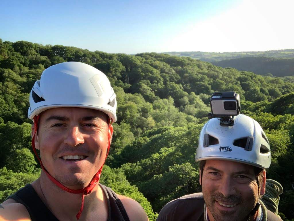 inaccessible solutions team rockclimbing filming